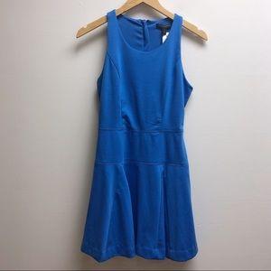 Banana republic 4 blue short sleeveless dress